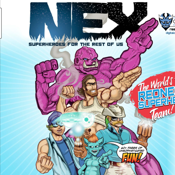 NEX - A Comedy Graphic Novel by Stephen Fox